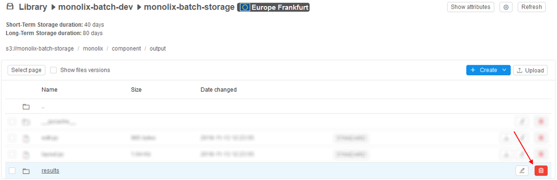 8 6 Delete Files and Folders from Data Storage - Cloud Pipeline